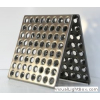 Плитка металлическая, для промышленных полов