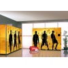 Шкафы HPL для отелей и спортивных раздевалок, шкафчики для персонала, шкафы для бассейнов HPL
